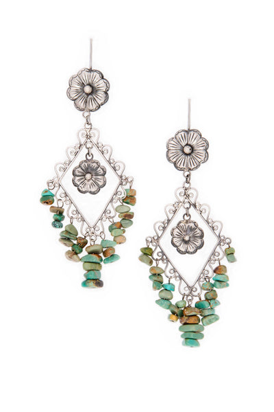 Earrings, Mazahua, Marquez