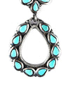 Earrings, Hoop, Turquoise, Selena