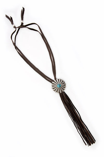 Necklace, Leather, Arroyo Seco