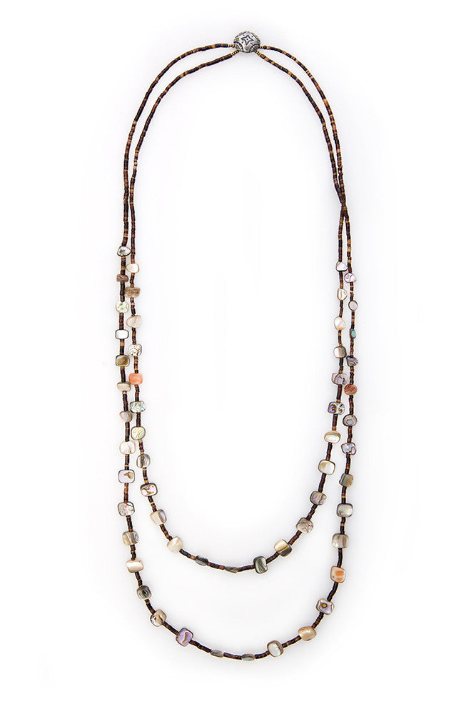 Abalone Plaza Blanca Necklace