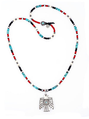 Necklace, Bead, Thunder Dance