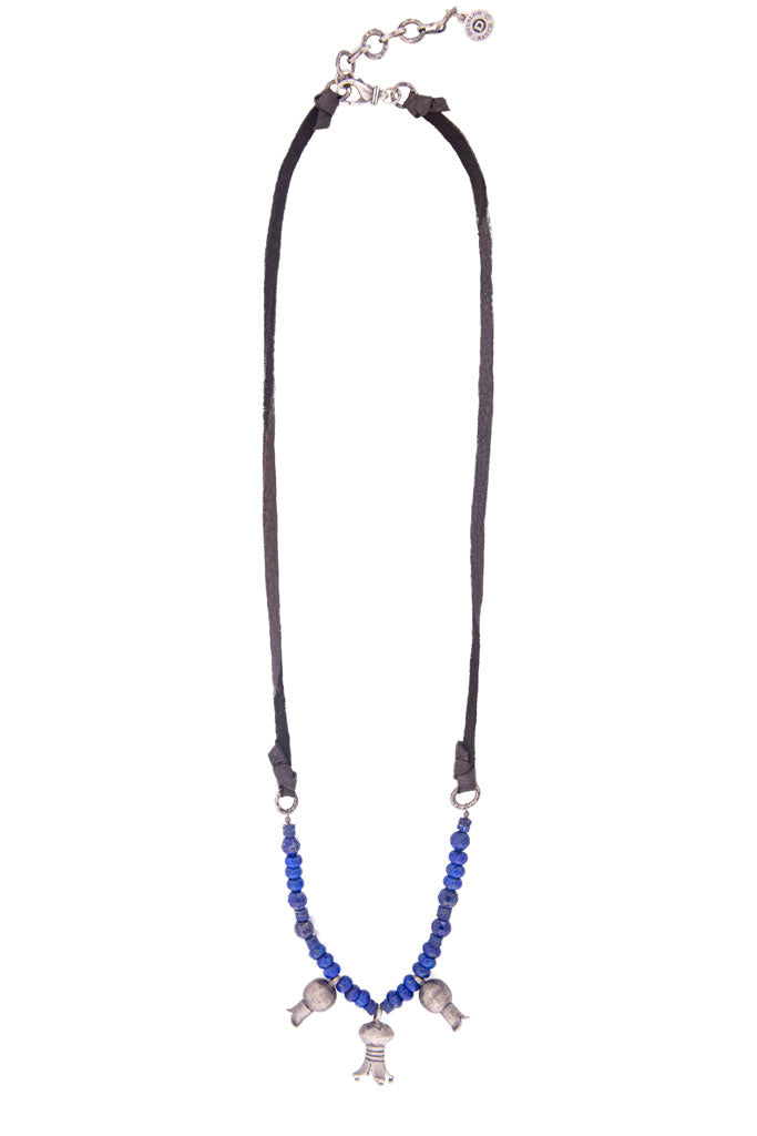 Necklace, Bead, Lapis Liberty