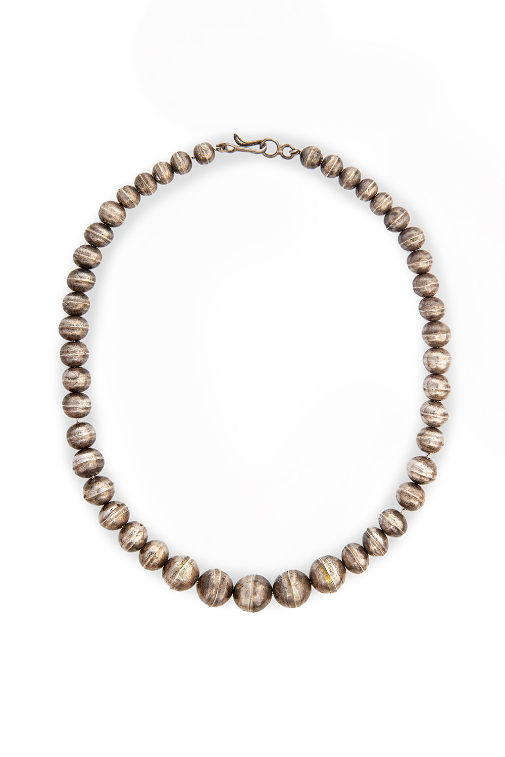 Necklace, Bead, Sterling Silver, Desert Pearls, Vintage, 876
