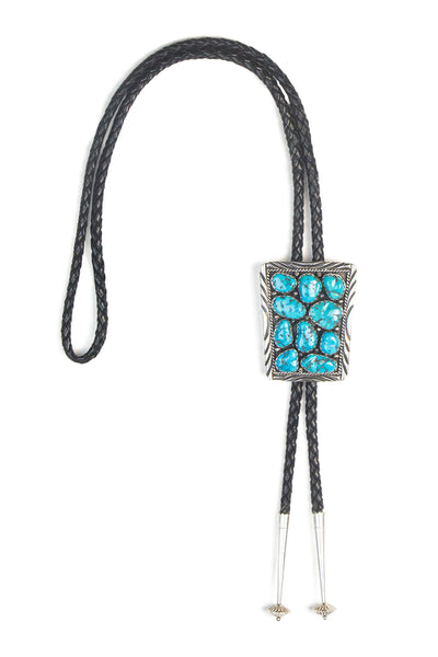 Bolo, Turquoise, Cluster, Hallmark, Turquoise, 916