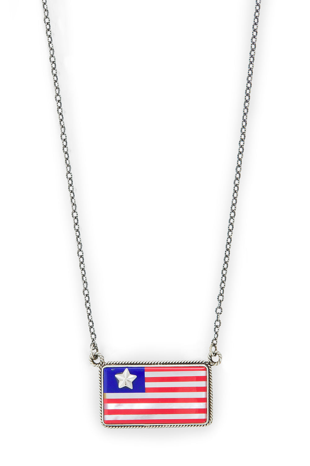 Necklace, Flag, Old Glory, 957