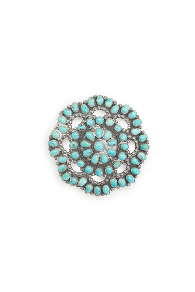 Pin, Cluster, Turquoise, Vintage, 395