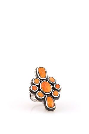 Ring, Collection, Wanderer, Orange Spiny