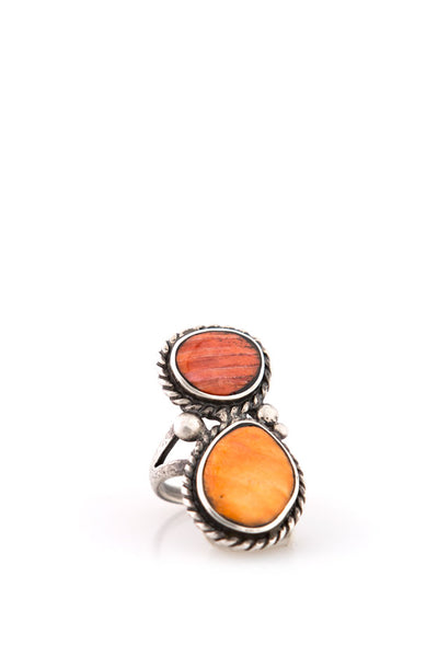 Ring, Collection, Nomad, Orange Spiny