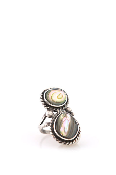 Ring, Collection, Nomad, Abalone