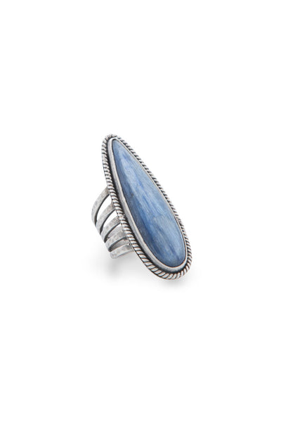 Ring, Collection, Labradorite, Blue Jean Baby
