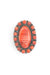 Ring, Cluster, Orange Spiny Oyster, Contemporary, 563
