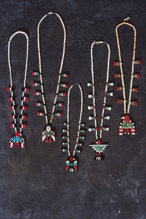 Santo Domingo Thunderbird Depression Necklace 434