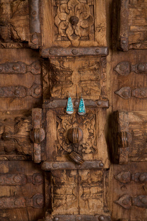 Earrings, Mosaic, Sacred Hills