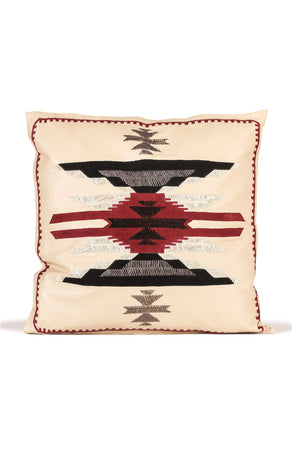 Pillow, Leather, Sacred Hills
