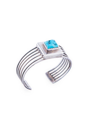 Cuff, Turquoise, Vintage, Navajo, 2277