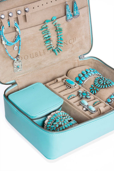Travel Series - The Santa Fe Zippered Jewelry Case