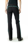 Long Black Train Pant