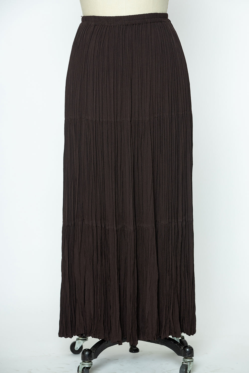 Crepe Broom Skirt - Vintage