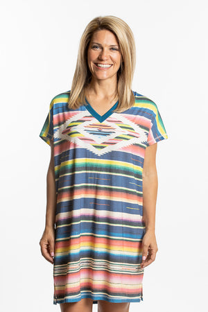 Monterrey Serape Sleep Shirt