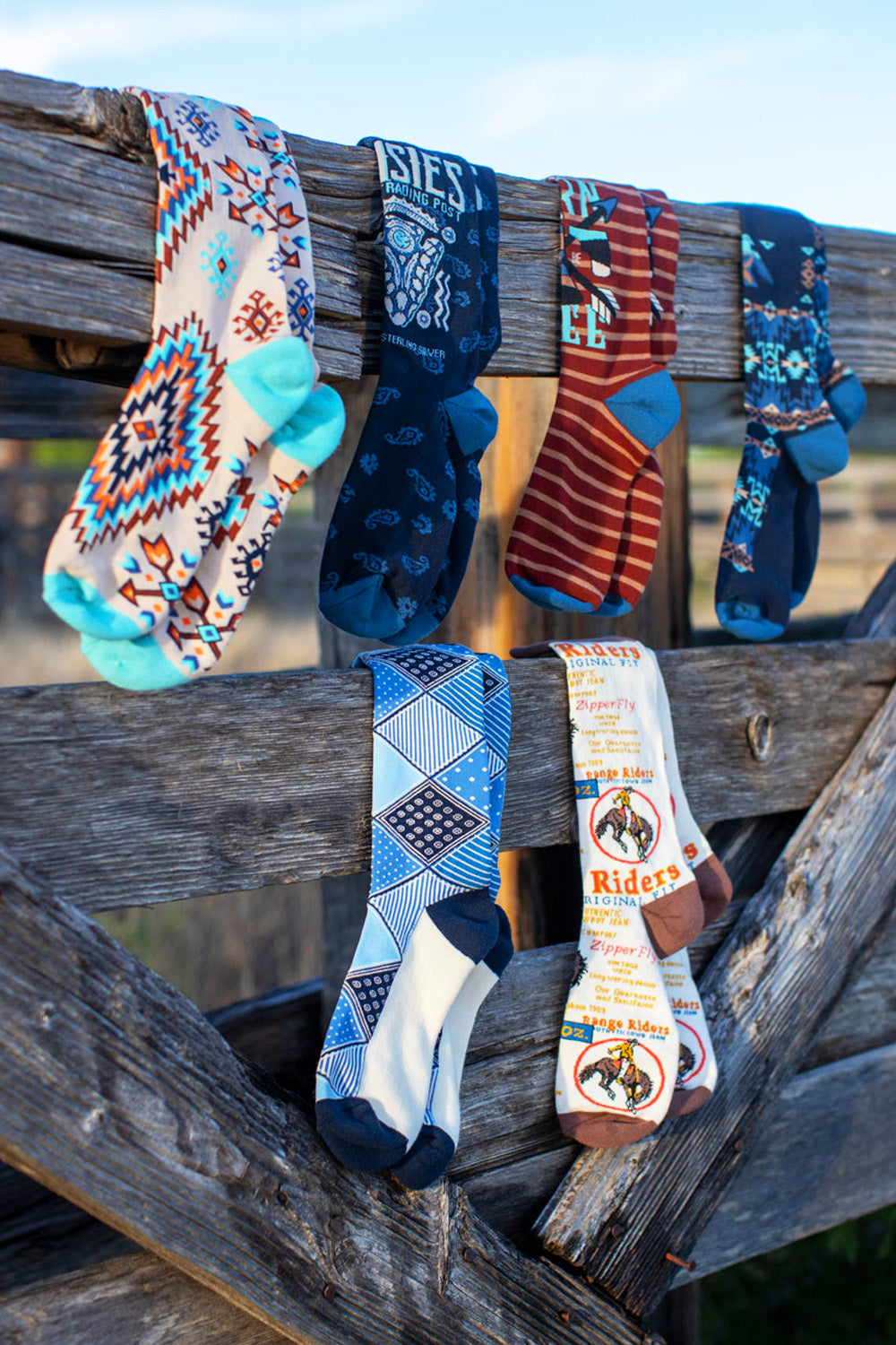 The Wildcatter Sock Pack