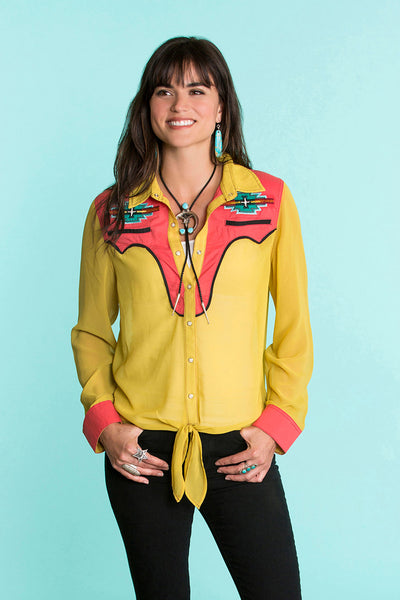 Native Eagle Top
