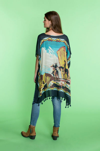 Lost in the West Poncho