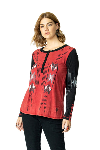 Chimayo Weaver Top