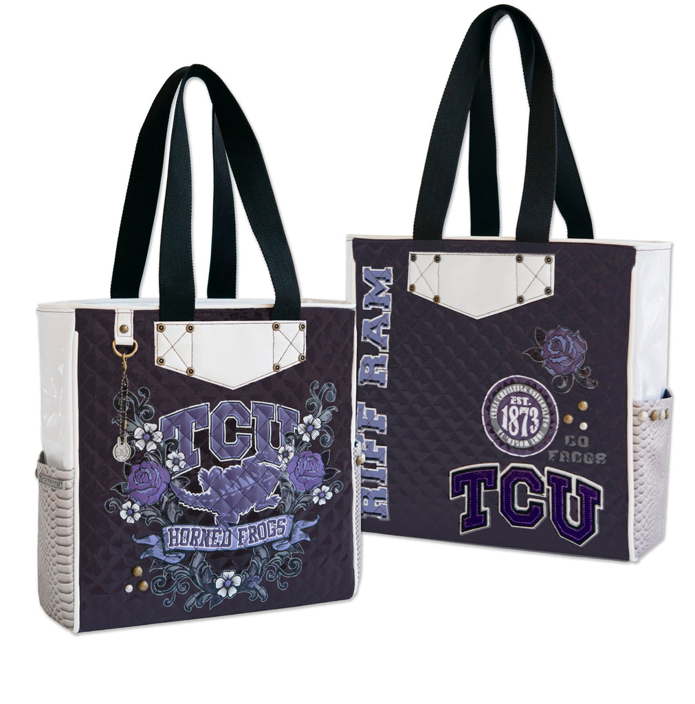 Texas Christian University Tote