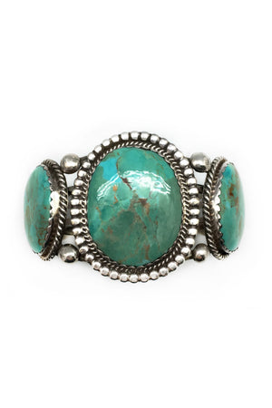 Cuff, Turquoise, Vintage, AY