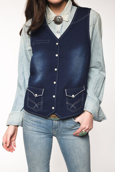 Indigo Blues Vest