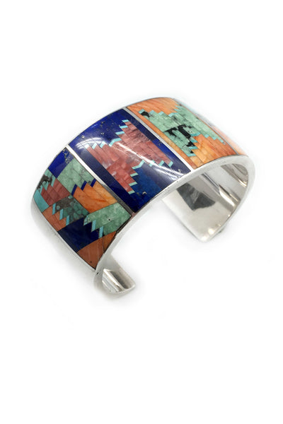 Cuff, Inlay, Mary Morgan