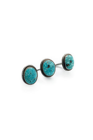 Ring, Free Floating, Turquoise, Anthony Skeets, 297