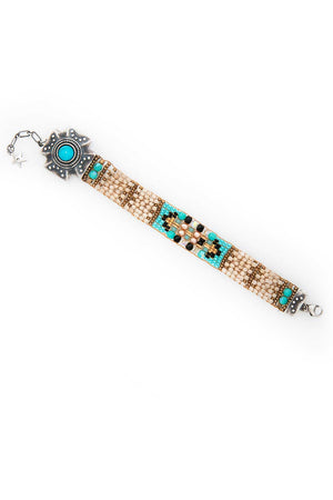 Bracelet, Beaded, Pebble Valley