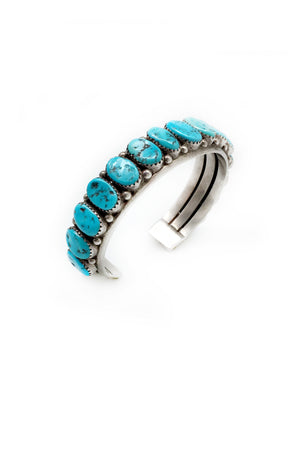 Cuff, Turquoise, Vintage, RN