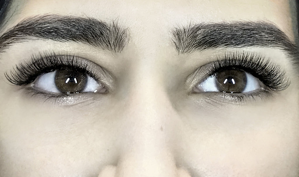 Russian Volume Eyelash Extensions 3d 6d Full Set Only 100 Lashes