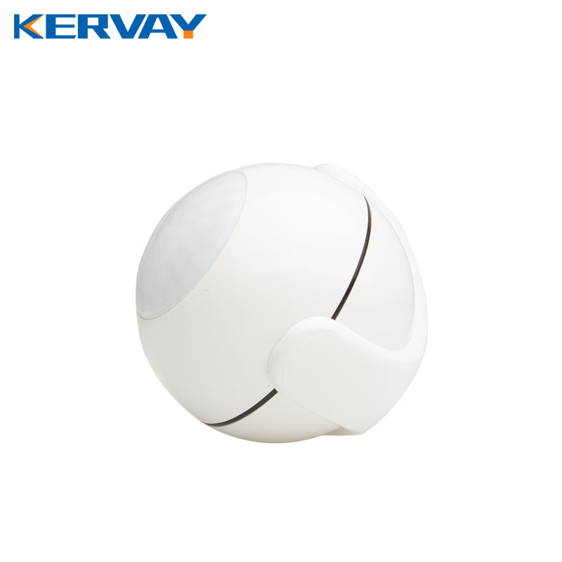 Kervay Zwave PIR Motion Sensor Compatible with Z wave 300 series and 500 series Z-wave Home Automation System Smart Sensor
