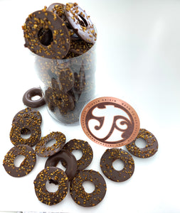 Milk Chocolate & Roasted Buckwheat Tea Rings