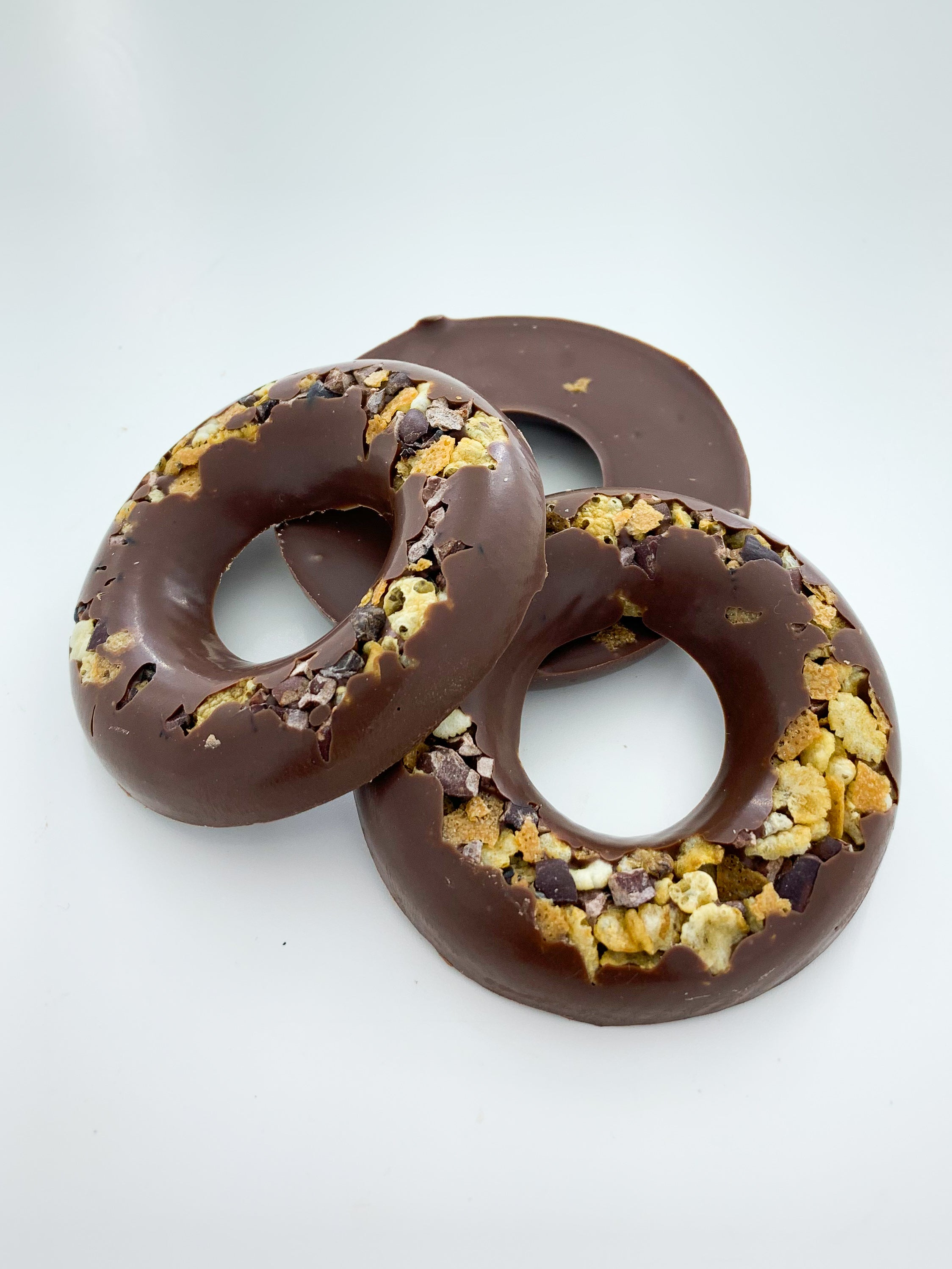 Milk Chocolate Crispy Rings