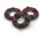Dark Chocolate, Cherry and Triple Mint Rings