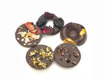 Assorted mini chocolate rings