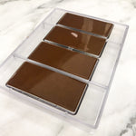 100% Pure Dark Chocolate & Salted Caramel Bars