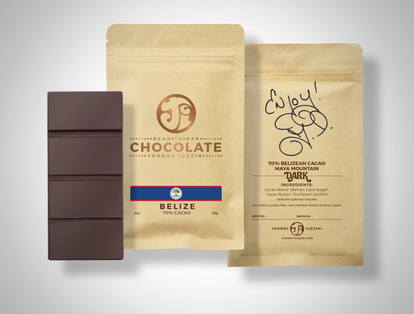 Belize<br />Maya Mountain<br />Dark Chocolate<br />70% Cacao
