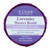 Rinse Bath Body Inc - Shower Bomb - Lavender
