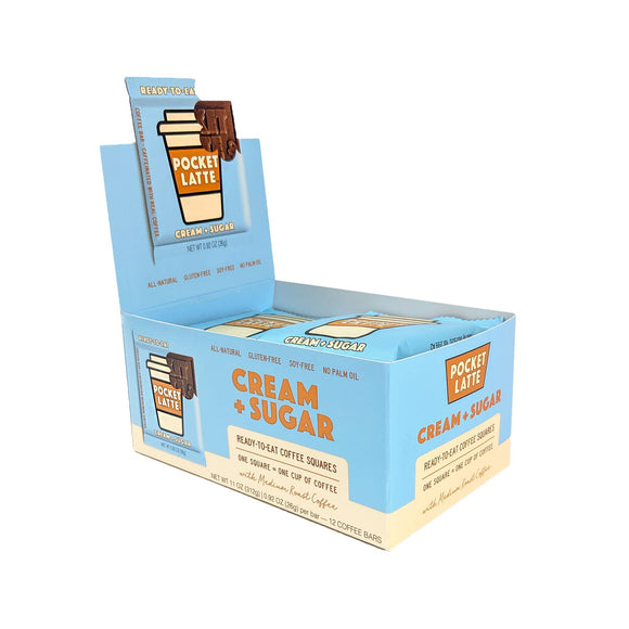 Pocket Latte - Cream & Sugar - Coffee Bar