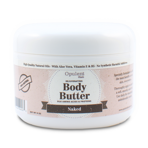Opulent Blends - Body Butter- Naked (Scent Free)