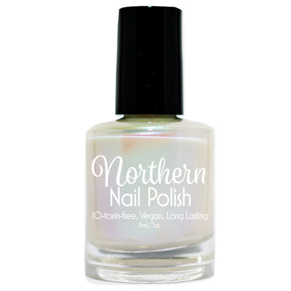 Northern Nail Polish - Michigan Lighthouses: Iridescent Opal Toxin Free, Vegan Nail