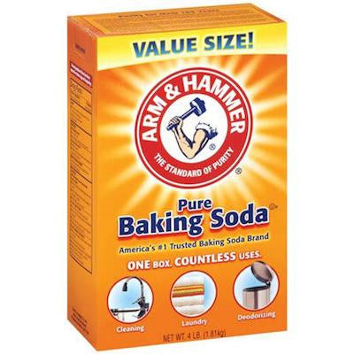 baking soda as shampoo