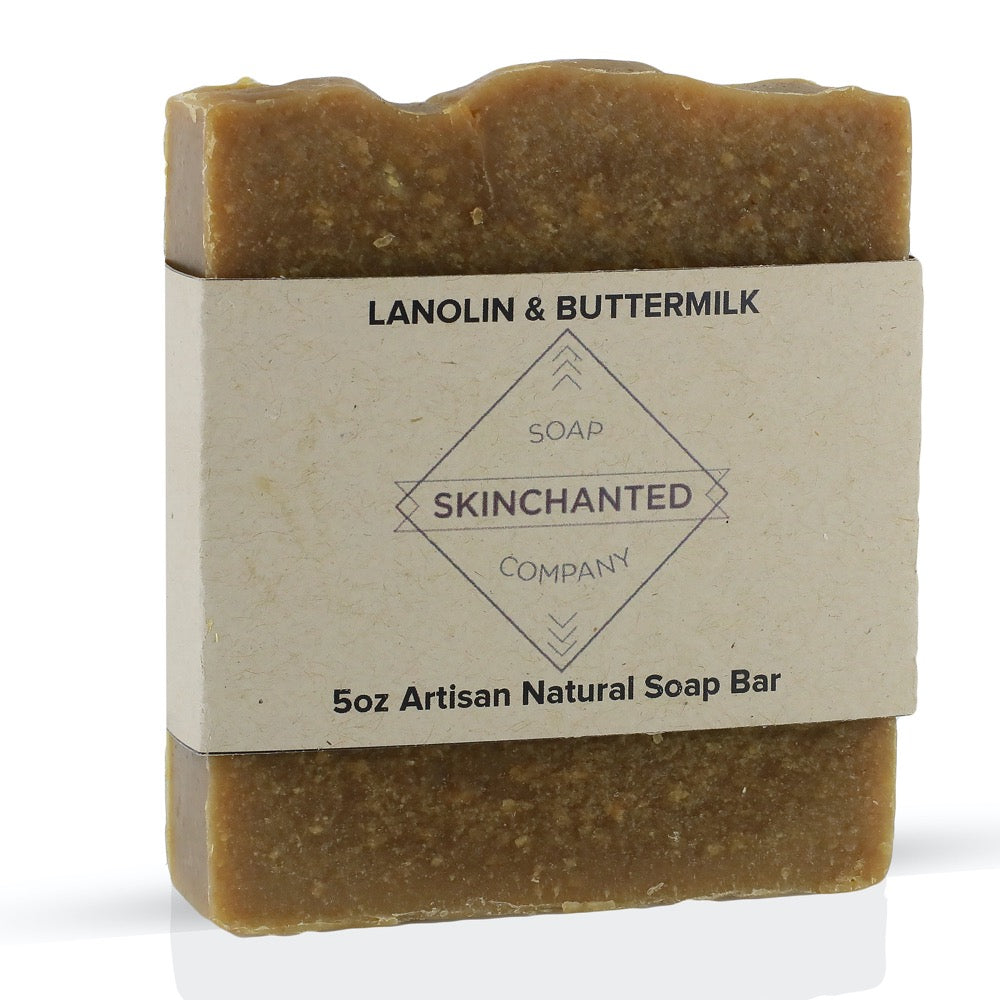 Lanolin & Buttermilk Bar Soap