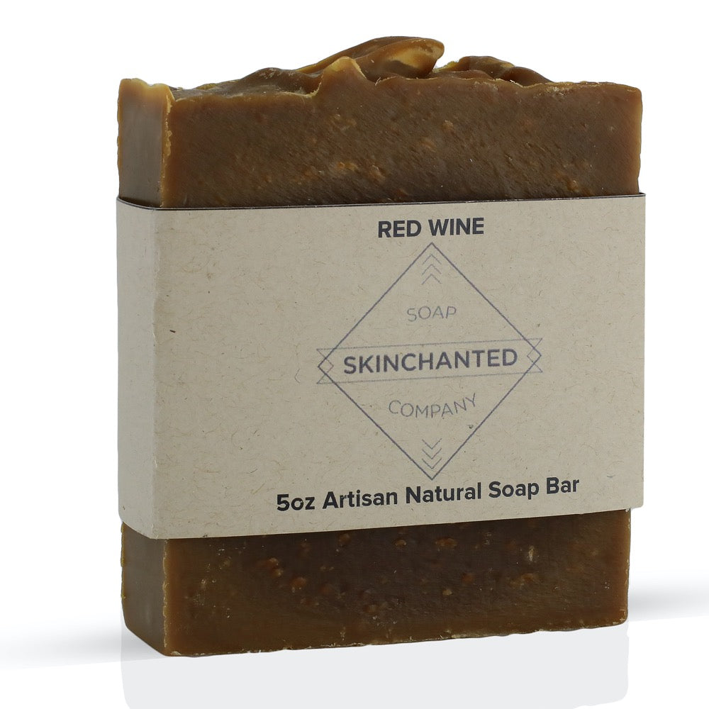 Red Wine Bar Soap