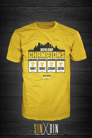 Cup Champions - Sin Bin Hockey Apparel